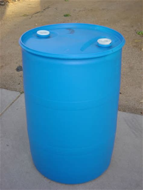 what is wrong with 55 gallon barrels?
