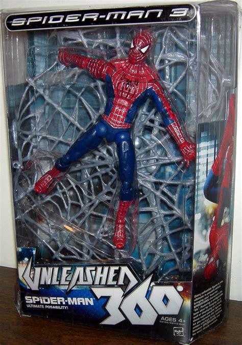 8 spider figure spider 3 unleashed 360 figure 8 inch hasbro