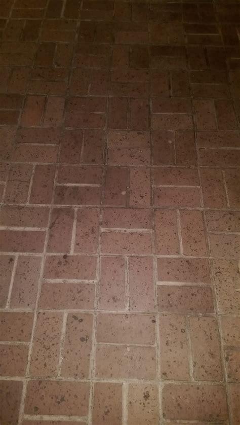 updating split brick floors