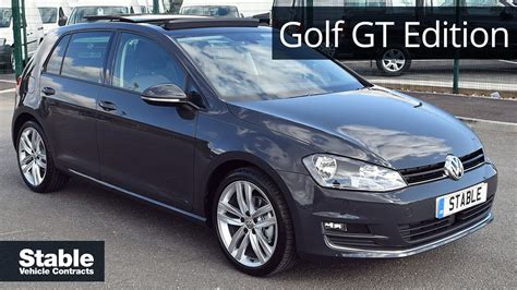 volkswagen golf gt volkswagen golf gt edition walk around
