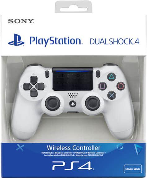 New Dualshock 4 Glacier White sony playstation 4 dualshock 4 v2 glacier white
