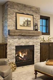 Farmhouse Fireplace by Classic Coastal Cottage Style Home Home Bunch Interior