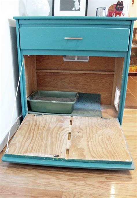 litter box in bedroom 7 purrfect diy solutions to hide the litter box mnn