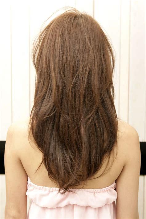 haircuts for long hair v three stylish v shaped haircut for people with long hair