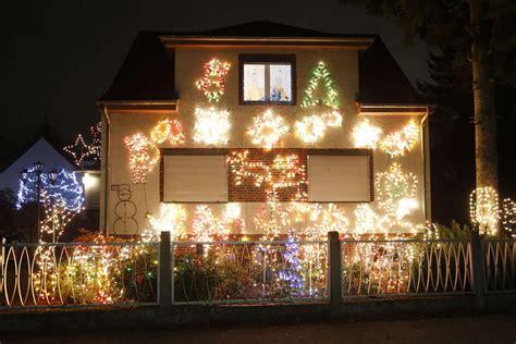 a general view shows a so called lichterhaus lights