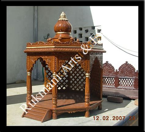 code 13 wooden carved teakwood temple mandir furniture