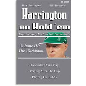 win holdem tournaments volume three master edition books book review harrington on holdem volume 3