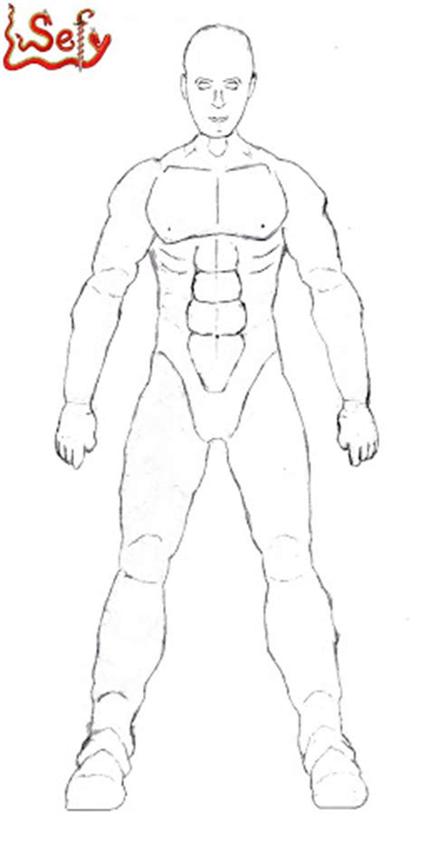 Human Form Outline Free by Human Outline Clip