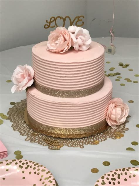 easy bridal shower dessert ideas 2 blush pink gold bridal shower ideas six clever