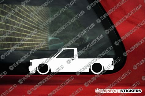 truck outline stickers chevrolet  single cab pickup   chevy