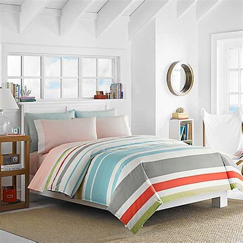 nautica comforter queen buy nautica 174 taplin reversible queen comforter set in aqua