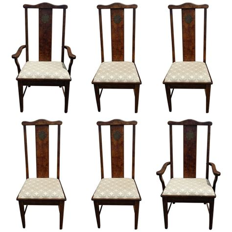 dining chairs set   asian chinoiserie style dining