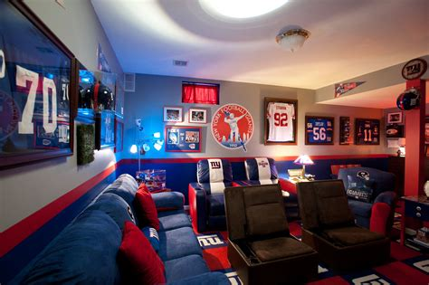 sports room a man cave for the military man ahrn com