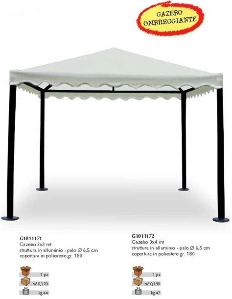 gazebo 4x3 lamapla produzione e commercio tende e tendaggi da