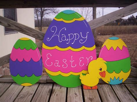 large easter eggs for yard easter eggs and 4 yard lawn decoration