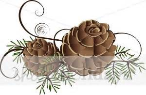 pine cone clipart christmas decoration clipart