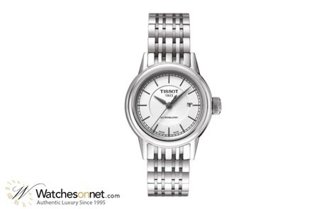 Tissot Carson Automatic White Stainless Steel T085 207 11 tissot carson t085 207 11 011 00 s stainless
