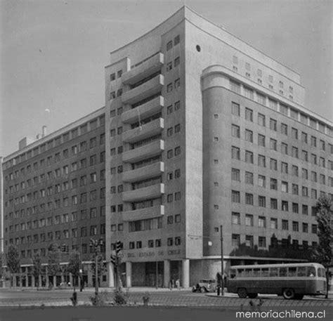 banco del estado de chile banco del estado de chile hacia 1960 memoria chilena