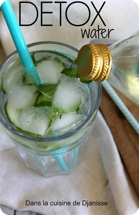 Il Detox Water by Detox Water Menthe Concombre Recettes V 233 G 233 Talienne