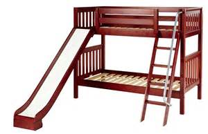 Diy Loft Bed With Stairs Appealing Princess Castle Through Kids Bunk Beds With
