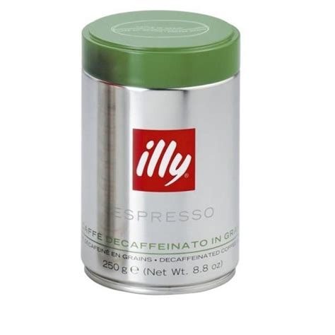 illy decaf coffee beans espr 250g