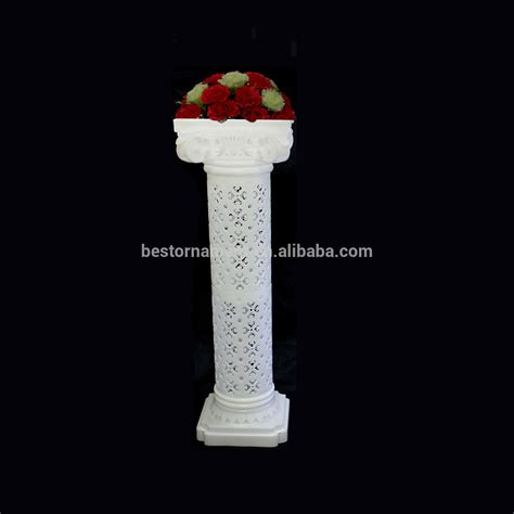 The Decorative Top Of A Column by Wedding Decorative Plastic Column View Wholesale