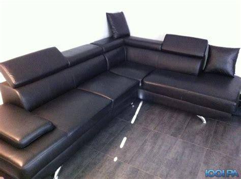 le bon coin canapé d angle convertible canap 233 d angle simili cuir noir annonce salon
