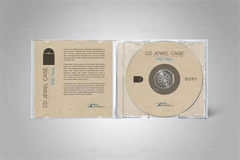 cd jewel case mock ups  raduluchian graphicriver