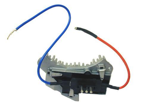 mercedes c class w202 blower fan resistor