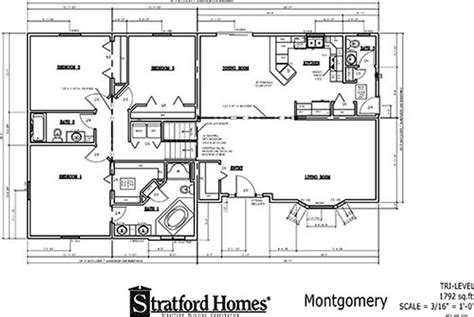 tri level house floor plans tri level montgomery