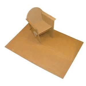 miniature de fauteuil en quart de poil
