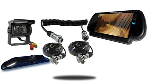 5th wheel quick disconnect backup camera system with 2