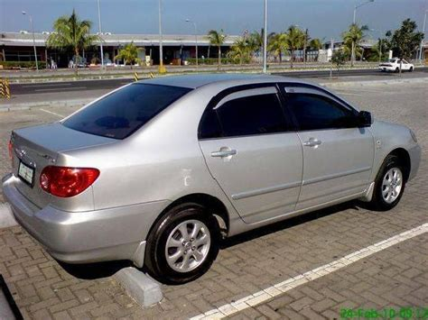 how cars engines work 2003 toyota corolla security system toyota corolla altis e manila 16 2003 toyota corolla altis e used cars in manila mitula cars