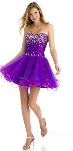 vestidos cortos para 15 a os vestidos morados cortos de 15 a os