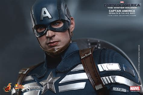 Steve Roger Suit marvel captain america stealth s t r i k e suit sixth sca sideshow collectibles