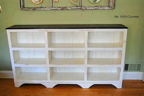 cottage style shelves from plain to cottage style bookcase diy