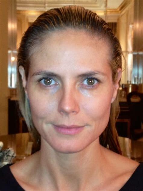 Heidi Klum Needs Some Makeup by Heidi Klum Without Photoshop Via Http Img Ibtimes