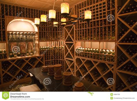 luxury home wine cellar stock photo image of orange