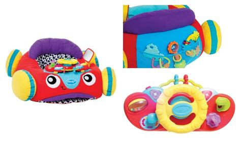 playgro and lights comfy car your baby can cruise in style with lights comfy