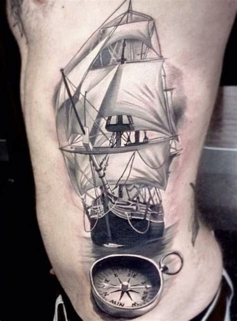 fresh tattoos for men ships intended for design 187 a to z