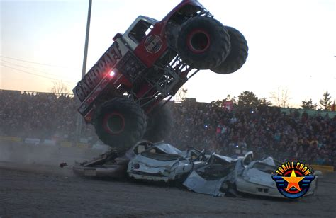 what time is the monster truck show shows