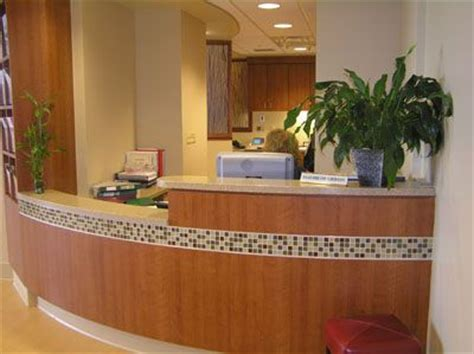 Tiled Reception Desk by Reception Counter With Mosaic Tile Reception Counters