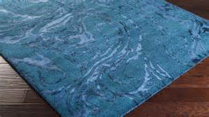 Area Rug Teal Tufted Banshee Area Rug Teal Swirl Zuri Furniture