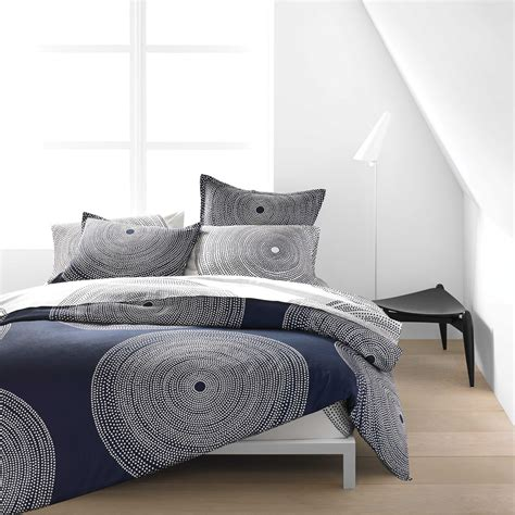 navy and white bedding marimekko fokus white navy percale bedding marimekko bedding