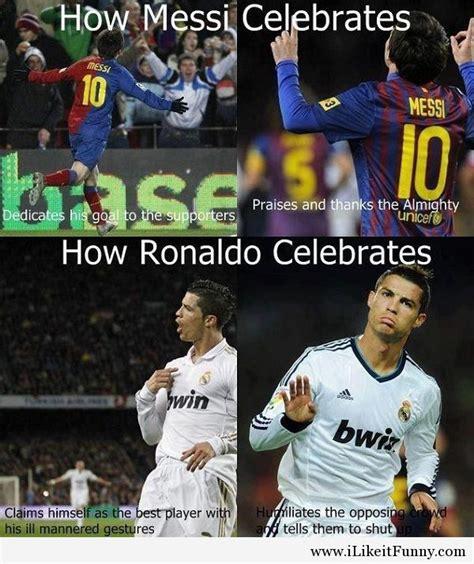 Messi And Ronaldo Funny Quotes Quotesgram | quotes about ronaldo messi funny quotesgram