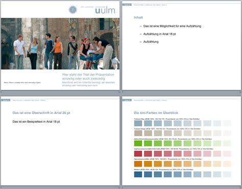 Corporate Design Vorlagen Uni Würzburg corporate design entwurf universit 228 t ulm