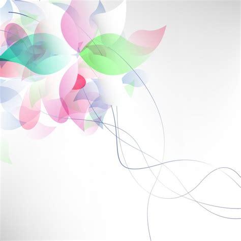 imagenes vectoriales gratuitas abstract flowers background vector free download