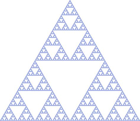 triangle pattern equation sierpinski triangle wikipedia