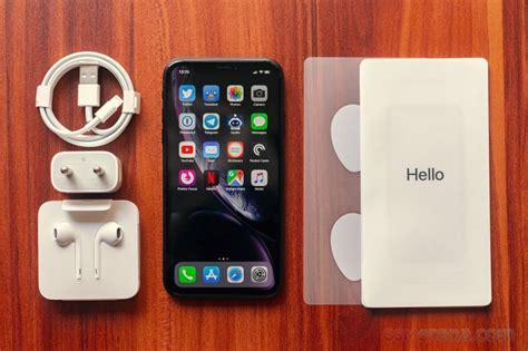 apple iphone xr review gsmarenacom tests