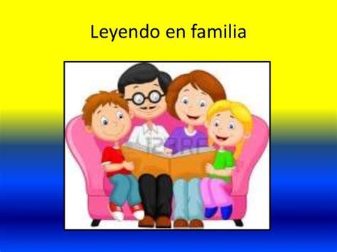 imagenes de la familia leyendo leyendo en familia unida